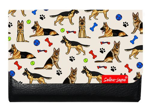 Selina-Jayne German Shepherd Dog Limited Edition Designer Small Purse